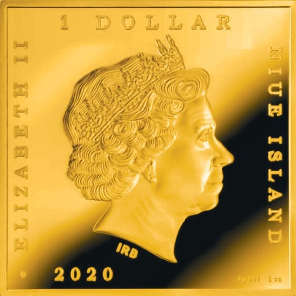 Fortitude Botticelli 1 oz Proof Silver Coin 1$ Niue 2020