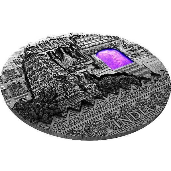 India Imperial Art 2 oz Antique finish Silver Coin 2$ Niue 2020