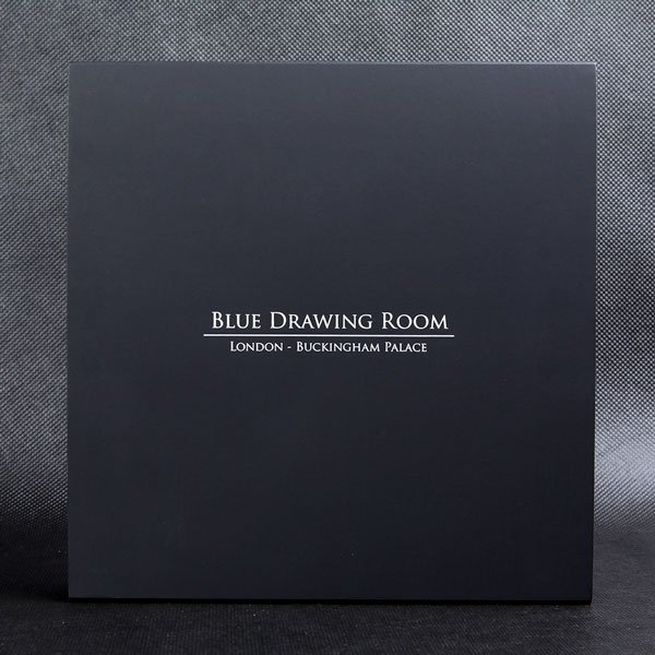 Blue Drawing Room Masterpieces in Stone 3 oz Antique finish Silver Coin 10$ Fiji 2014