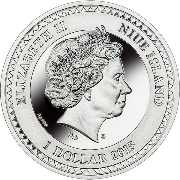 Niue 2015 1$ Faith - The World of Your Soul Proof Silver Coin