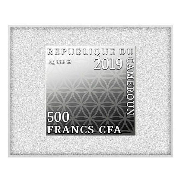 Rembrandt Proof Silver Coin 7 x 500 Francs CFA Cameroon 2019