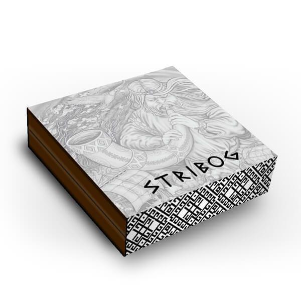 Stribog 2 oz Antique finish Silver Coin 2$ Niue 2020