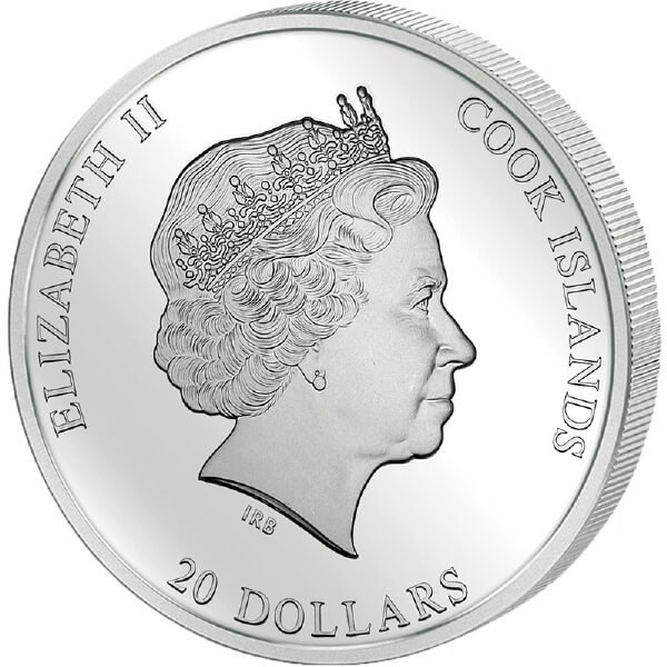 """Cook Islands 2013 20$ """"The Adoration of the Kings"""" Masterpieces of Art 3 Oz Proof Silver Coin"""