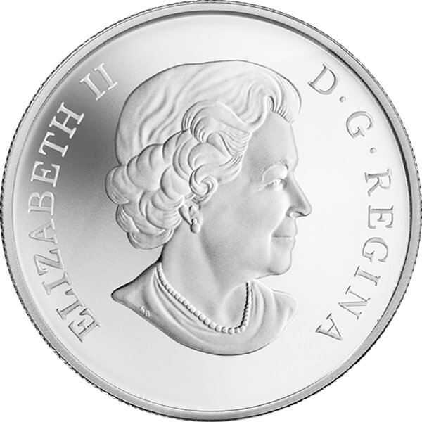 Canada 2013 10$ Holiday Candles Silver Proof Coin