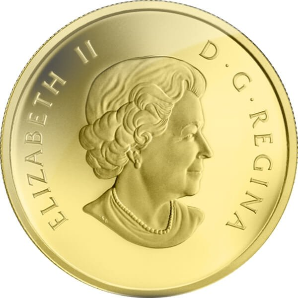 The Beaver 2013 O Canada 1/10 oz Proof Gold Coin 5$ Canada 2013