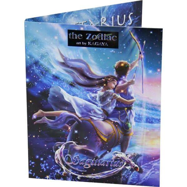 The Sagittarius Zodiac Series Art by Kagaya Proof Silver Coin 2$ Niue 2011
