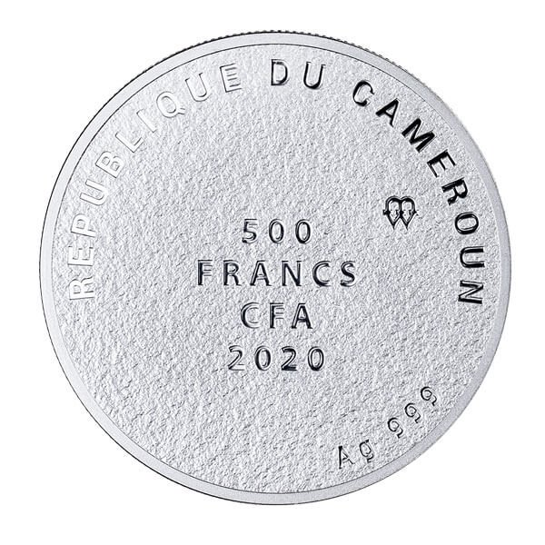 Wishing Tree Proof Silver Coin 500 Francs Cameroon 2020