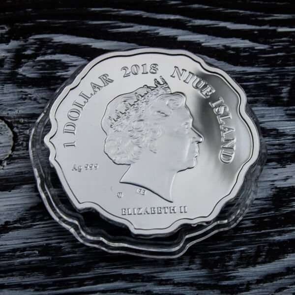 I Just Got Here! Proof Silver Coin 1$ Niue 2018