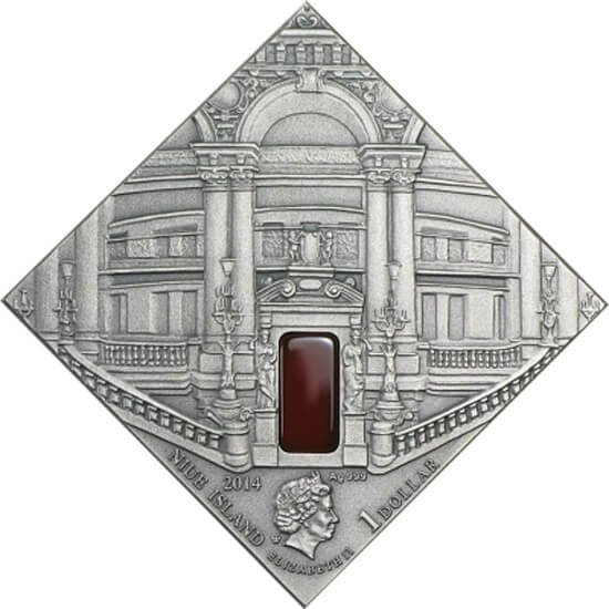Classicism Art The Art that Changed the World  Antique finish Silver Coin 1$ Niue 2014