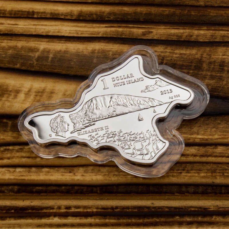 Crimea - Livadia Palace Proof Silver Coin 1$ Niue 2013