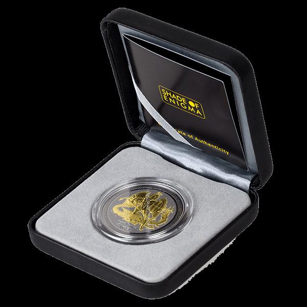 Isle of Man 2016 1 Angel Shade of Enigma - Angel BU Silver coin