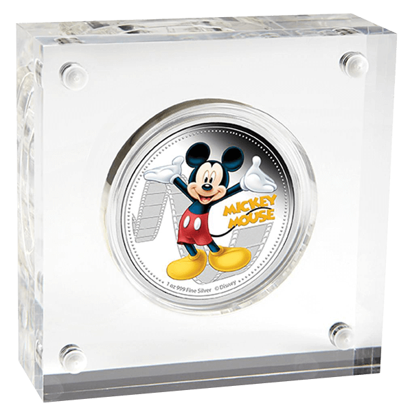Niue 2014 2$ Mickey & Friends - Mickey Mouse Proof Silver Coin