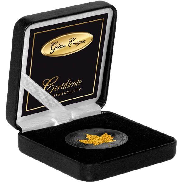 Maple Leaf Golden Enigma Edition 2017 1 oz Silver BU 5$ Canada 2017