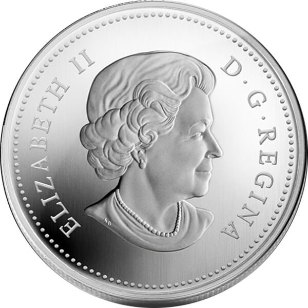 Wild Rose 2011 Proof Silver Coin 20$ Canada 2011