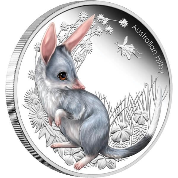 Australia 2011 0,5$ Bilby Australian Bush Babies Proof Silver Coin