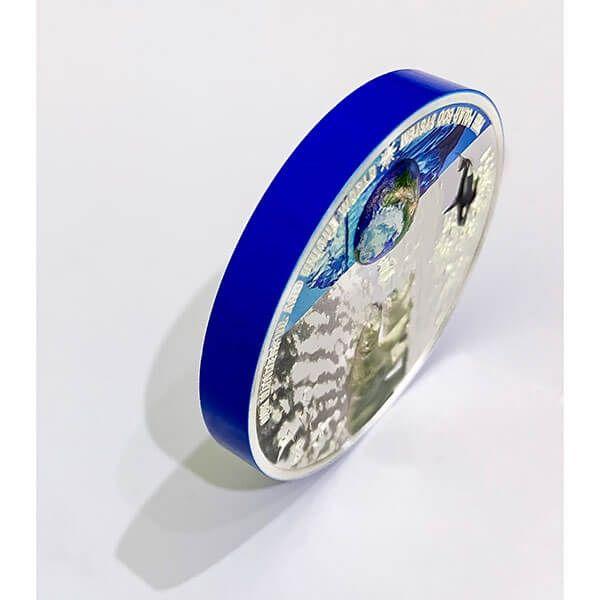 The Polar Ecosystems Our Earth - Ecosystems 2 oz Proof Silver Coin 10$ Palau 2020
