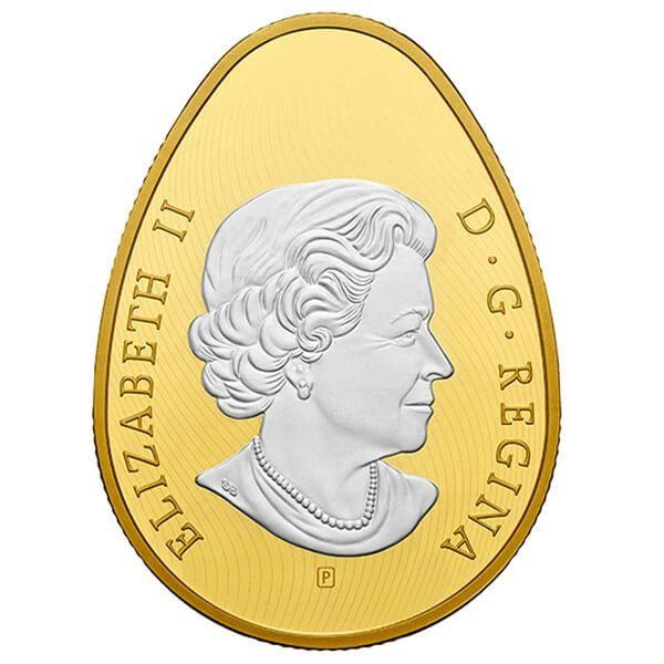 Golden Spring Pysanka Proof Silver Coin 20$ Canada 2018