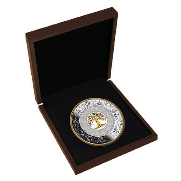 Tree of Luck 250 g Proof Silver Coin 25$ Niue 2018