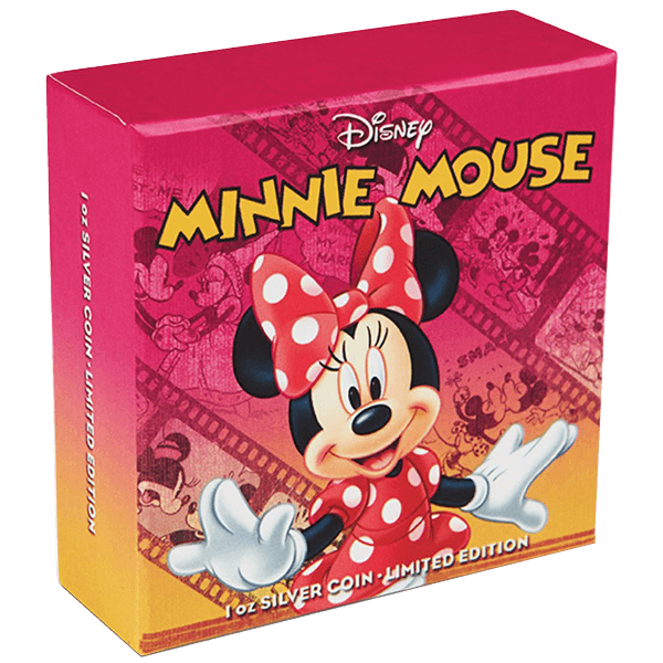 Niue 2014 2$ Mickey & Friends - Minnie Mouse Proof Silver Coin
