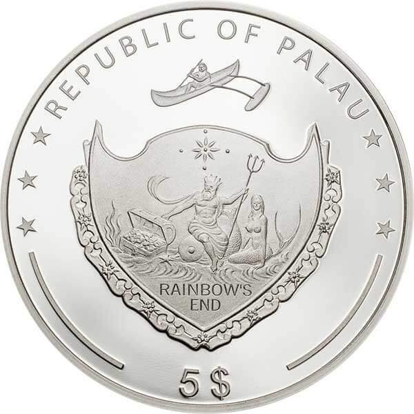 Ounce of Luck 1oz Proof Silver Coin 5$ Palau 2019