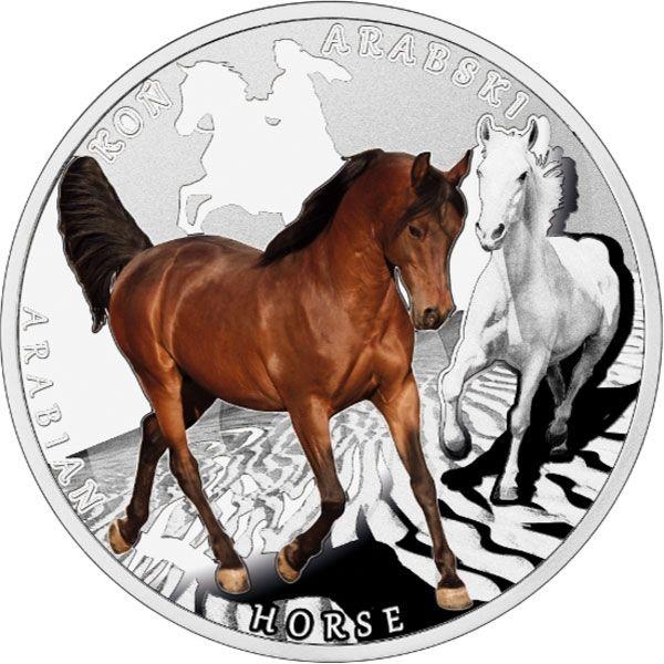 Niue 2015 1$ Arabian Horse Man's Best Friends – Horses Proof Silver Coin