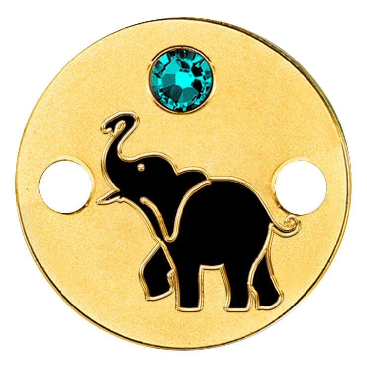 Niue 2016 5$ Elephant Small Treasures Proof Gold Coin