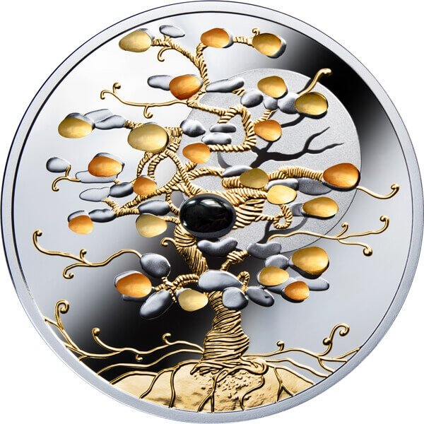 Tree of Luck 1 oz Proof Silver Coin 1$ Niue 2019