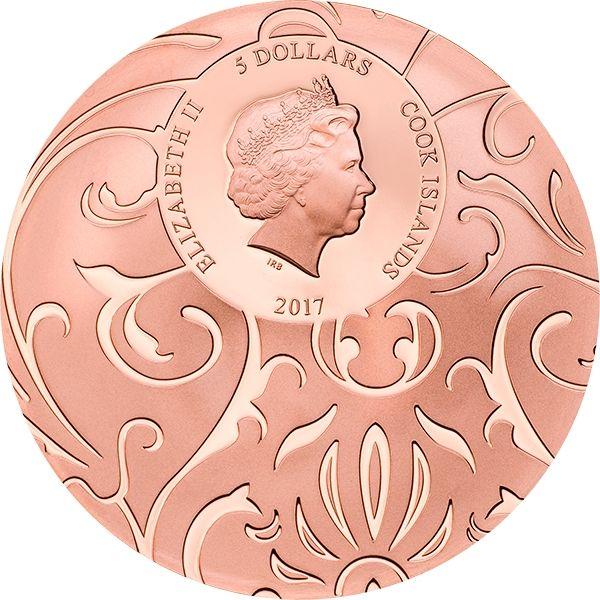 Cook Islands 2017 3x5$ Black Kingdom Scarab Selection 1 oz Proof Silver Set