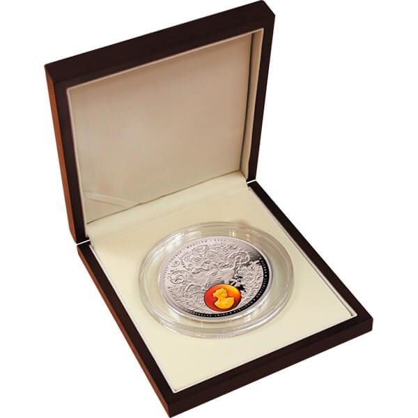 Niue 2016 50$ Amber Road 2016 Europe 400g Proof Silver Coin