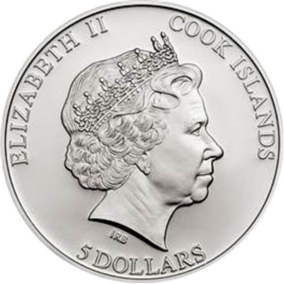 Cook Islands 2014 5$ Paint Your Coin - First Love Proof Silver Coin