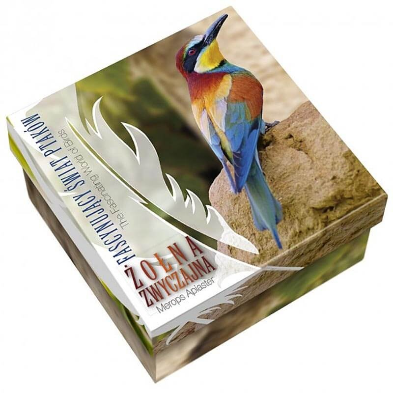 Bee-eater The Fascinating World of Birds 1/2 oz Proof Silver Coin 1$ Niue 2014