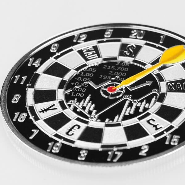 Bullseye 1 oz Proof Silver Coin 1000 Francs CFA Cameroon 2021