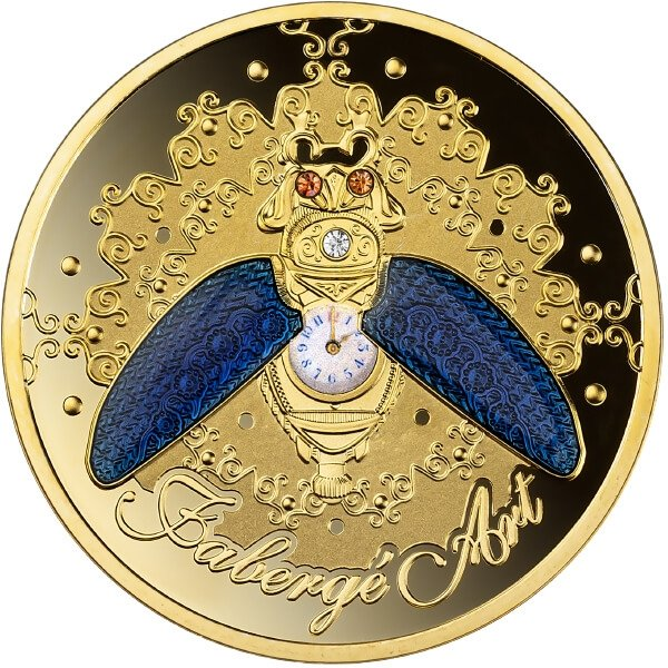 Beetle Watch 1 oz Proof Silver Coin 1$ Niue 2021