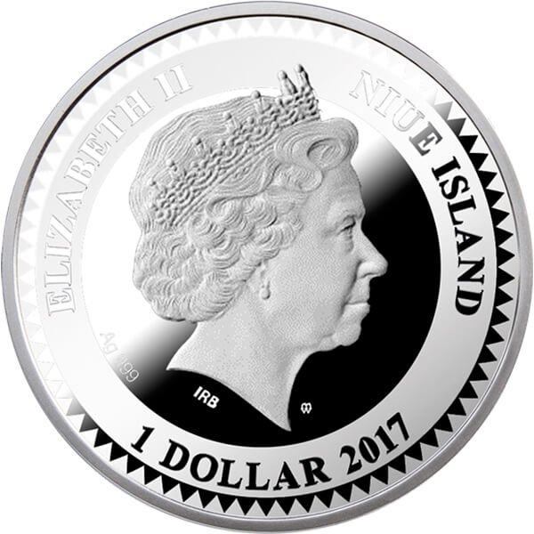 Beauty The World of Your Soul Proof Silver Coin Niue 1$ 2017