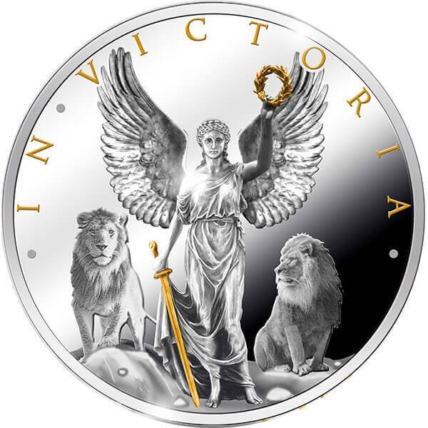 In Victoria  Proof Silver Coin 1$ Niue 2019