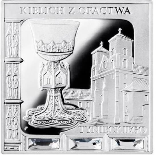 Chalice from the Tyniec Abbey  Missing Works of Art  Proof Silver Coin 1$ Niue 2014