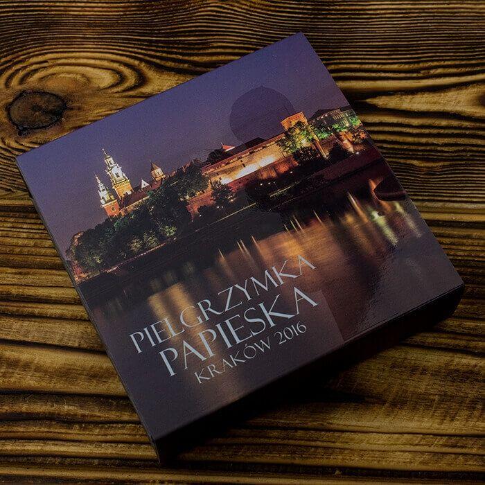 Pielgrzymka Papieska - Krakow Proof Silver Coin 1$  Niue 2016