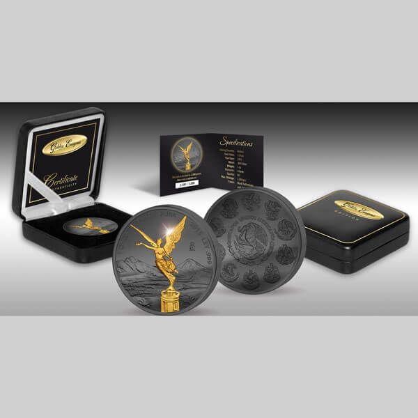 Mexico 2015 1 Onza Golden Enigma Edition 2015 Libertad BU Siver 1 oz