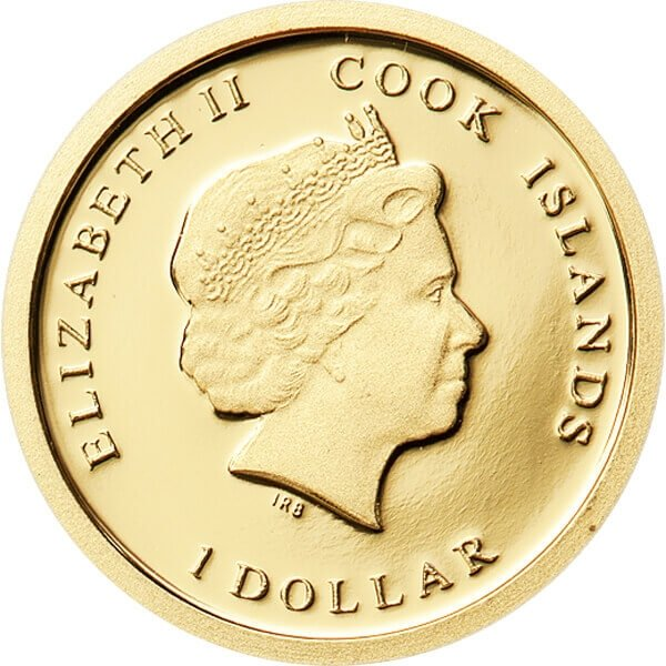 Titanic 1912-2012 Proof Gold Coin 1$ Cook Islands 2011