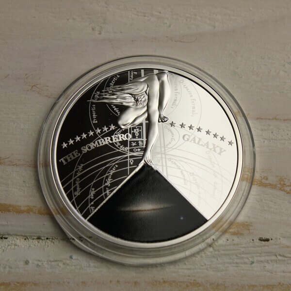 Niue 2015 1$ Sombrero The Most Beautiful Galaxies Proof Silver Coin