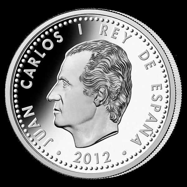 Spain 2012 10 euro FIFA Brazil 2014 Official Handover Coin Proof Silver Coin