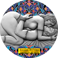 Kama Sutra III Moments of Love 3 oz Antique finish Silver Coin 3000 Francs CFA Cameroon 2021