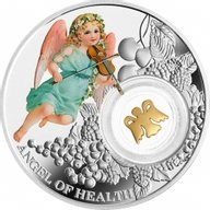 Angel of Health Angels Proof Silver Coin 1$ Niue 2016