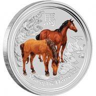 Australia 2014 30$ Australian Lunar Series II 2014 Year of the Horse 1 kg Silver Proof-like Coin