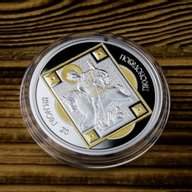 St. George the Great Martyr  Proof Silver Coin 1$ Niue 2014