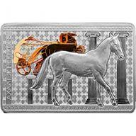 Belarus 2011 20 rubles Akhal-Teke Horse Horses Proof Silver Coin