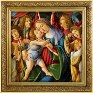 Madonna and Child Sandro Botticelli 1 oz Proof Silver Coin 1$ Niue 2020