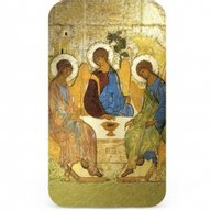Andrei Rublev The Holy Trinity 1 Oz Proof Silver Coin  2$ Niue 2012