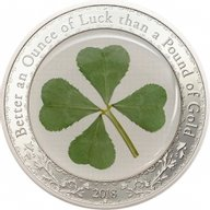 Ounce of Luck 1 oz Proof Silver Coin 5$ Palau 2018