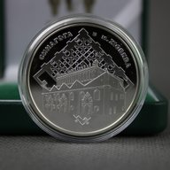 Ukraine 2012 10 Hryvnia's Zhovkva Synagogue Proof Silver Coin